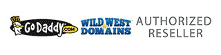 GoDaddy and Wild West Domains authorized reseller
